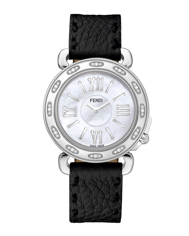Fendi Selleria Diamond Watch