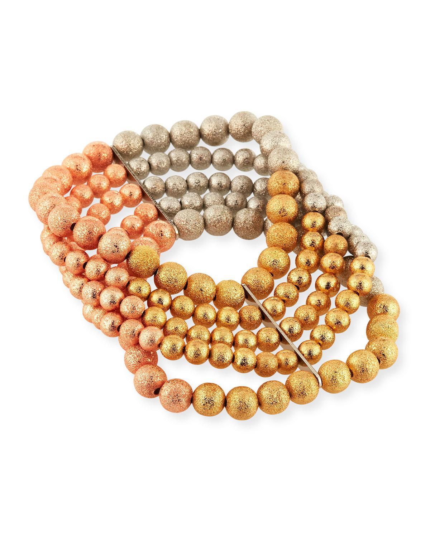 Lydell Nyc Beaded Stretch Bracelets, Set of 4
