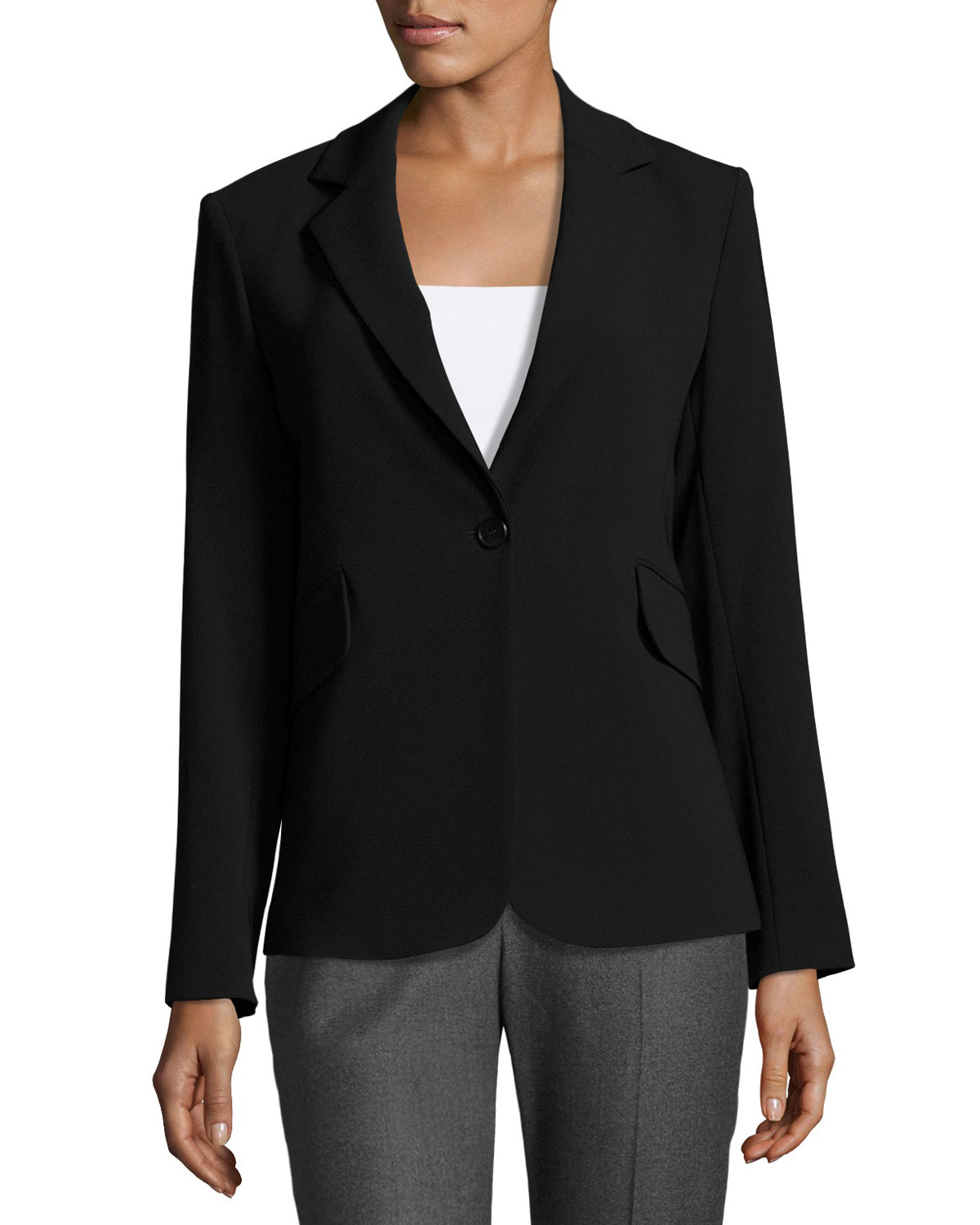 d52853834dce Lyst - Theory Admiral Blazer Jacket in Black