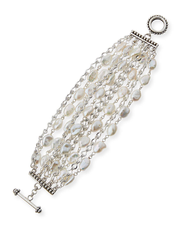 Tory Burch Silver Logo Cuff Bracelet