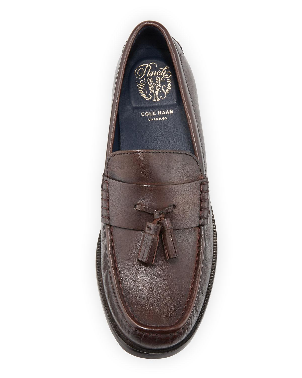 799db60a8fd Lyst - Cole Haan Men s Pinch Friday Tassel Loafers in Brown for Men
