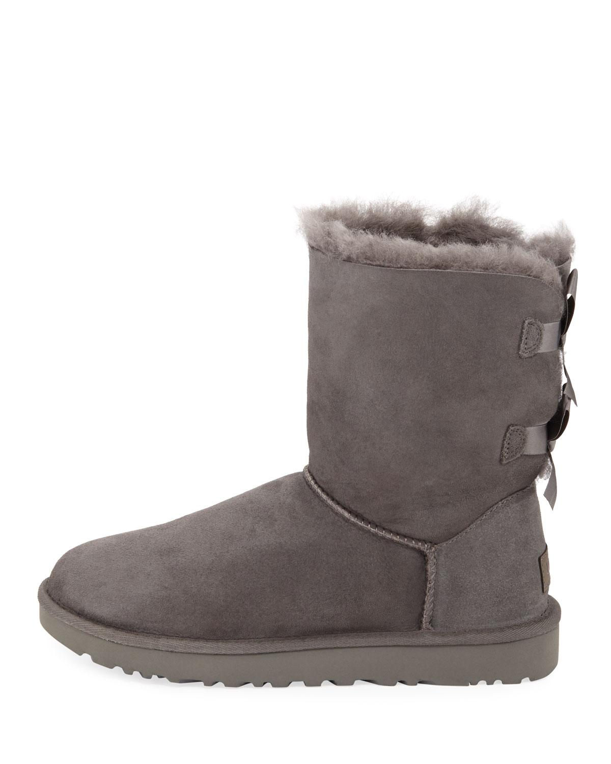 69af318aa12 Lyst - UGG Bailey Bow Ii Boots in Gray
