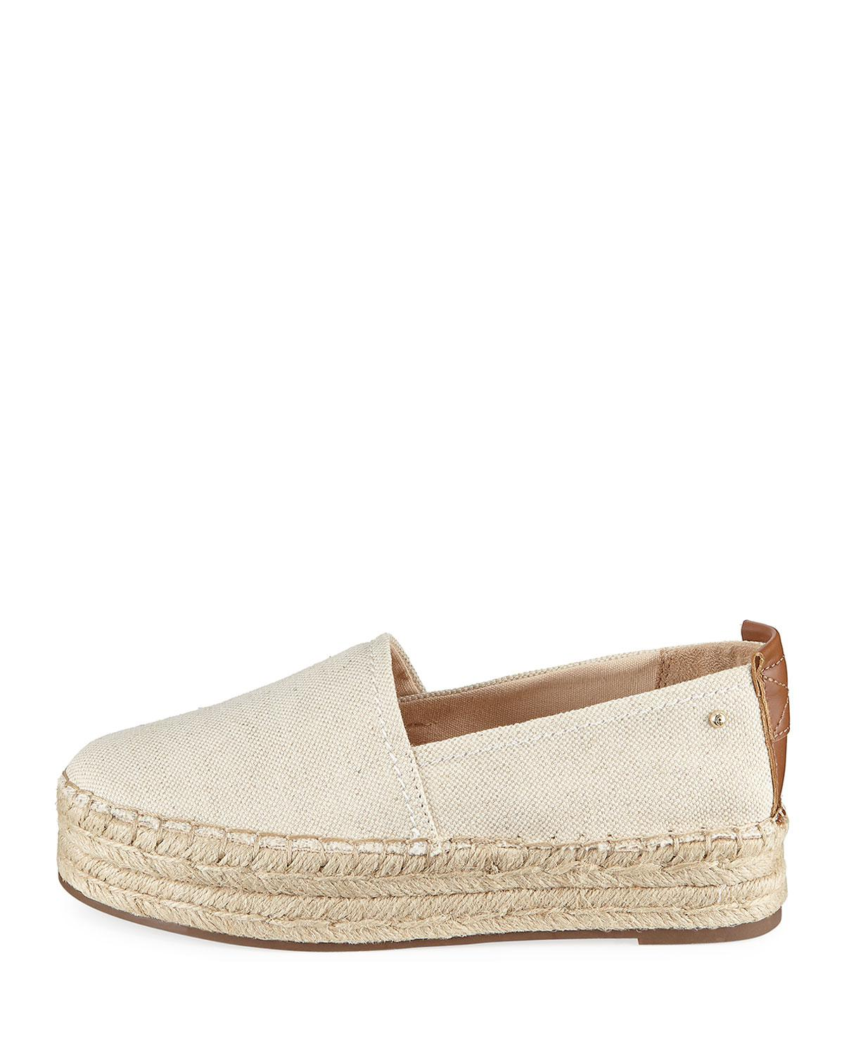 73b3bb4d9 Circus by Sam Edelman Camdyn Double Canvas Espadrille in White - Lyst