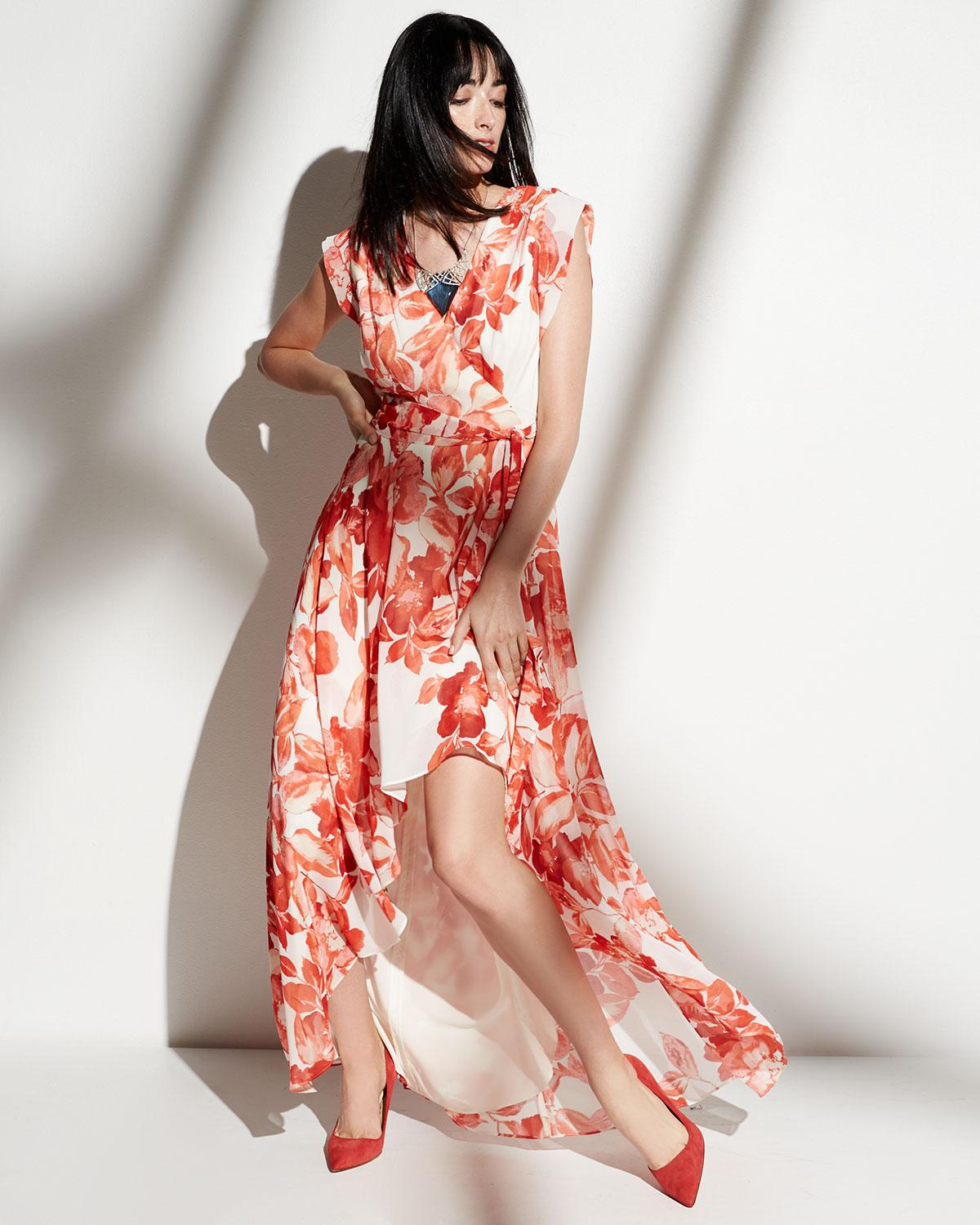 83fa43e8b7 Gallery. Previously sold at  Last Call · Women s High Low Dresses Women s  Wrap Dresses Women s Eliza J Maxi