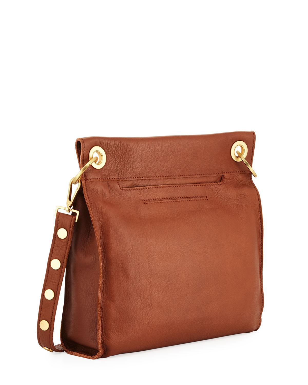 79df53cf74 Lyst - Hammitt Paul Leather Crossbody Bag in Brown