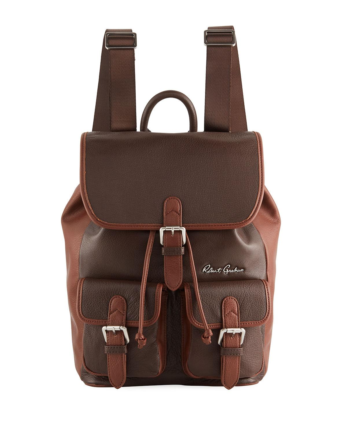 7f83a96c798cb Lyst - Robert Graham Men s Alondra Leather Rucksack Backpack in ...