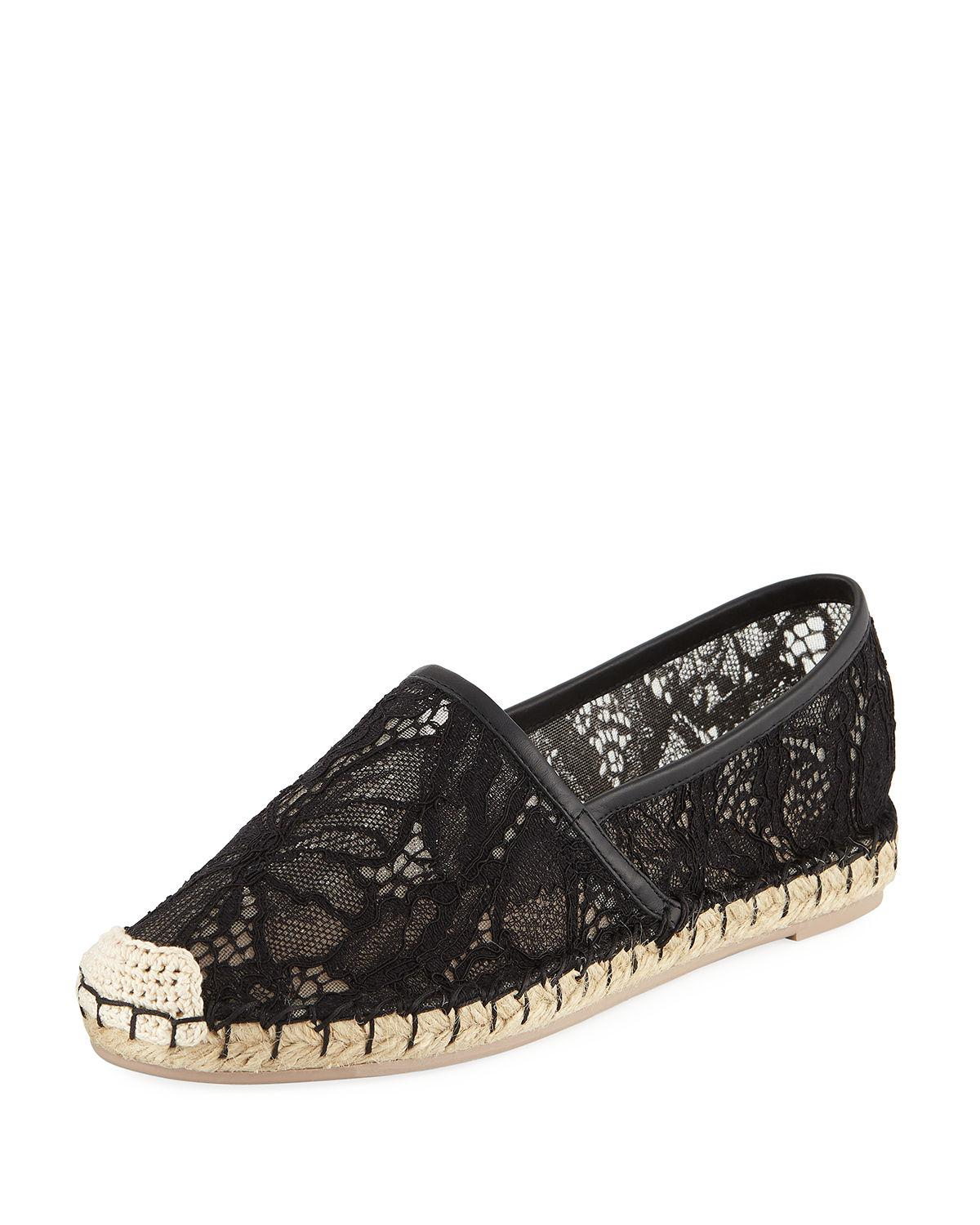 Valentino Floral Suede Flats cheap find great sale Manchester new cheap price discount best store to get discount nicekicks 1YRQqi