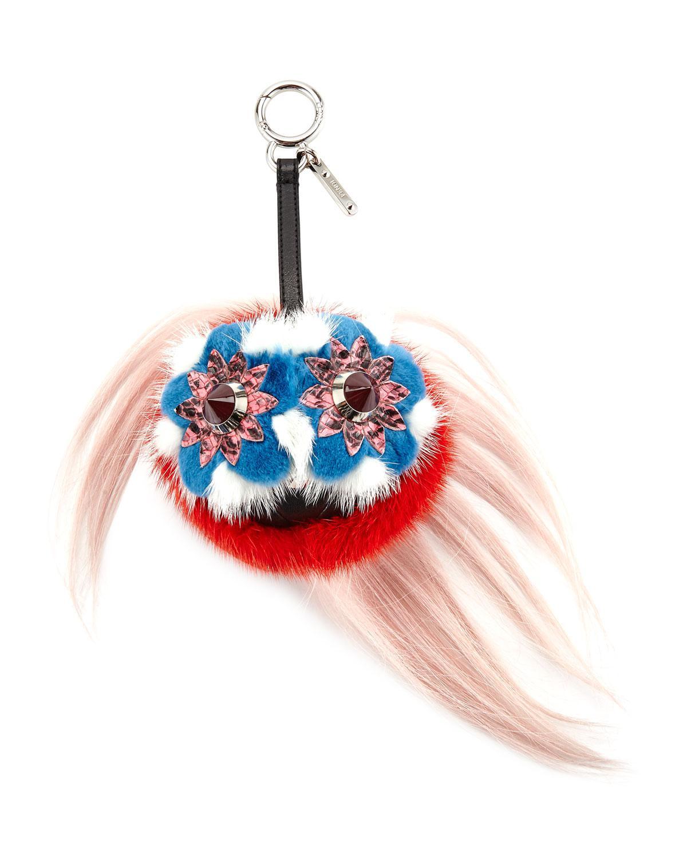 Blossy Bag Bug bag charm - Multicolour Fendi uLGUN4