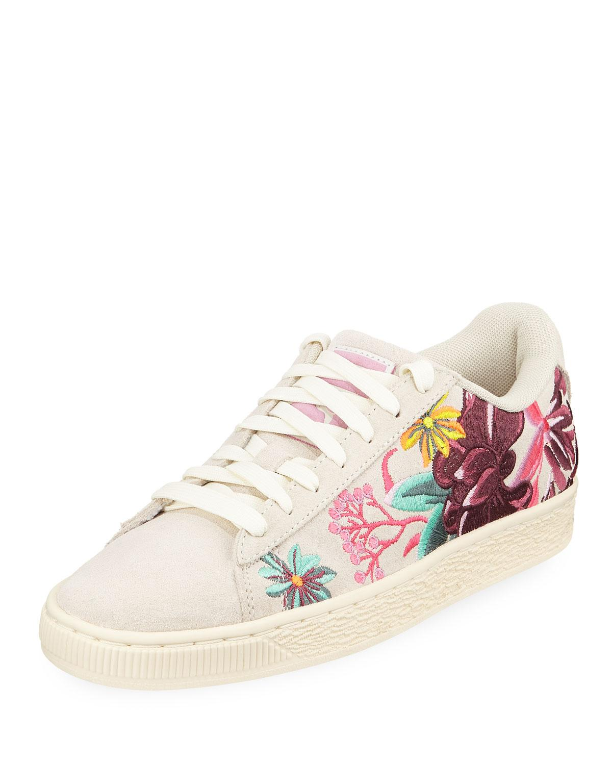 20f3e91584c Lyst - PUMA Suede Hyper Embellished Low-top Sneakers - Save 19%