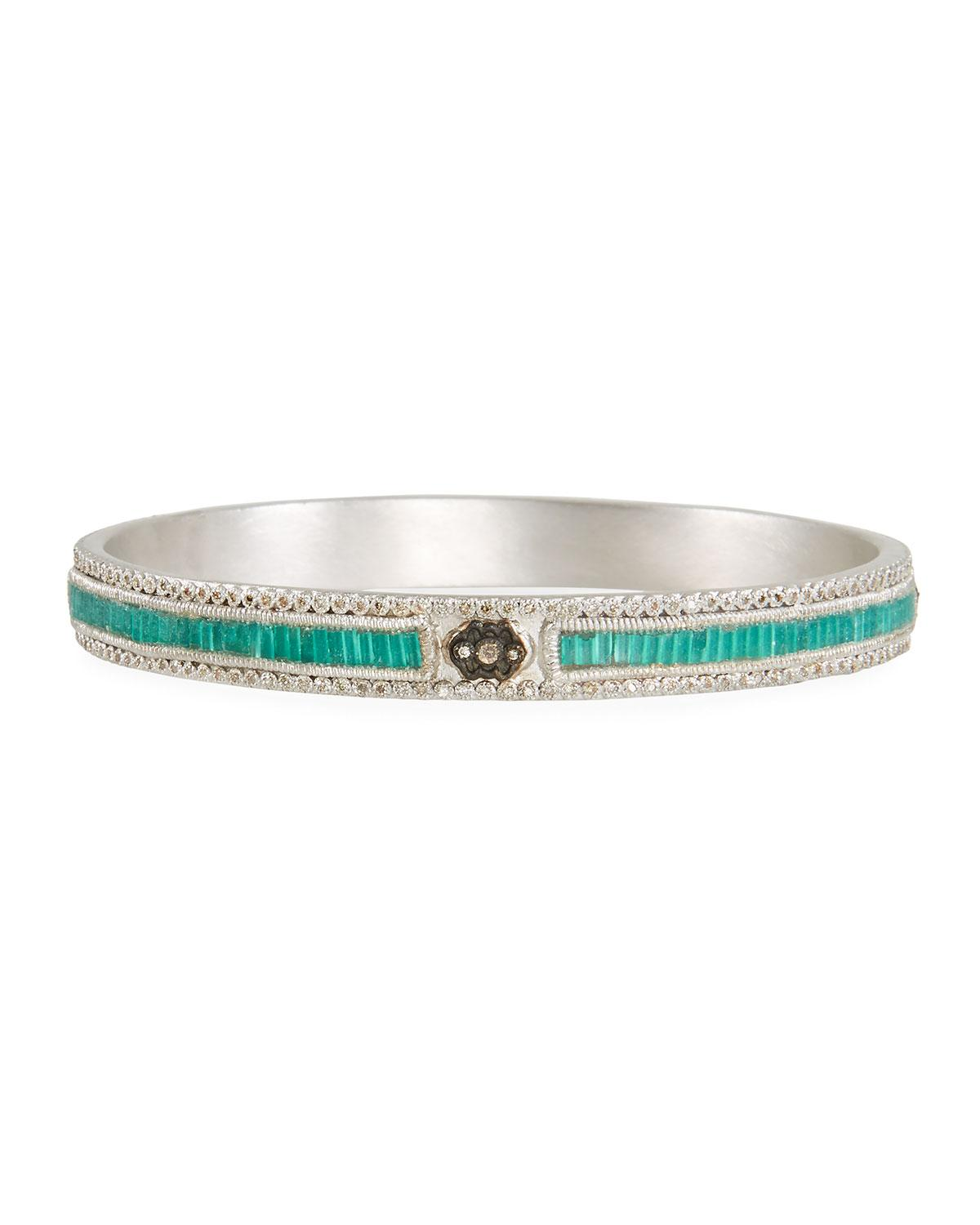 Armenta New World Teal Mosaic Bracelet with Diamonds MIBhf2aFWA