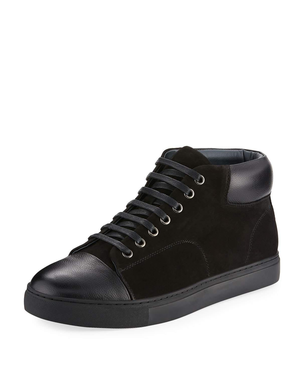 English Laundry Highfield High-Top Suede Sneaker NbZOOknLC