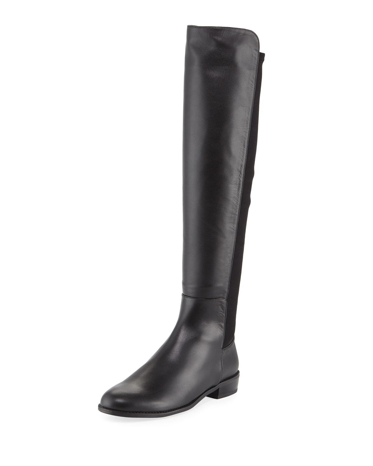 77772363a11 Lyst - Stuart Weitzman Mainstay Napa Over-the-knee Boot in Black
