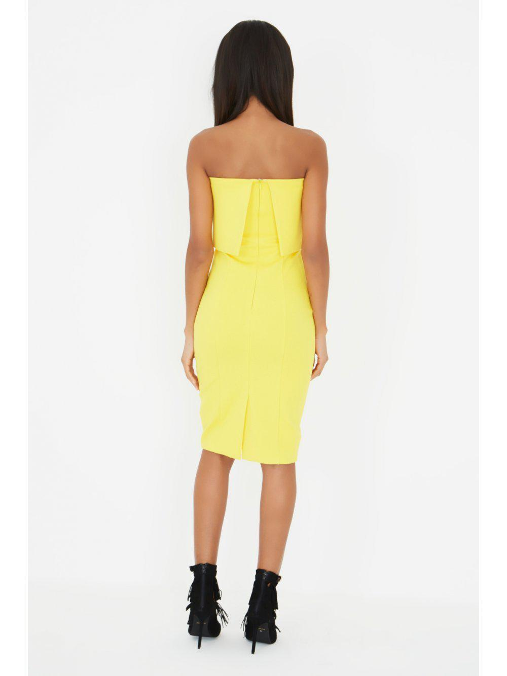 a2935abebdb3 Gallery. Previously sold at: Lavish Alice · Women's Yellow Dresses Women's  Bandeau ...