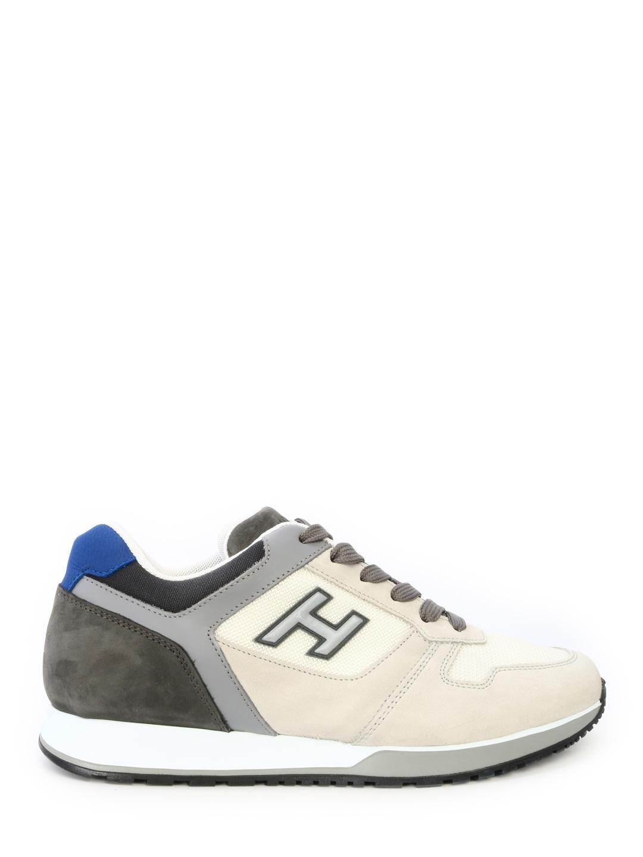 007054cc519 Lyst - Hogan Sneakers H321 Grey in Gray for Men