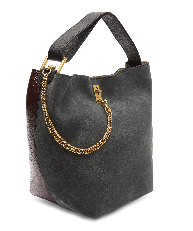 1b4517574e Lyst - Givenchy Gv Bucket Bag in Black