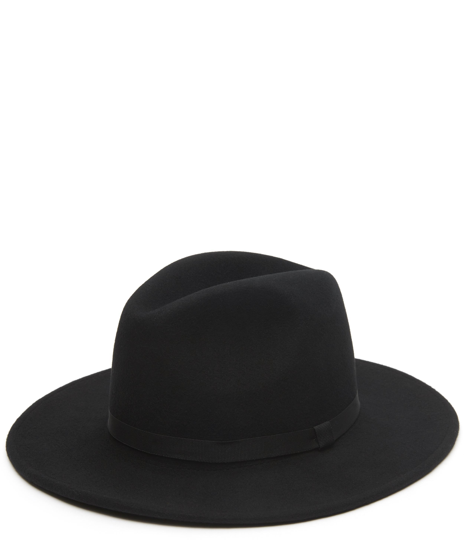 650d94aa14a Lyst - Paul Smith Wool Fedora Hat in Black for Men