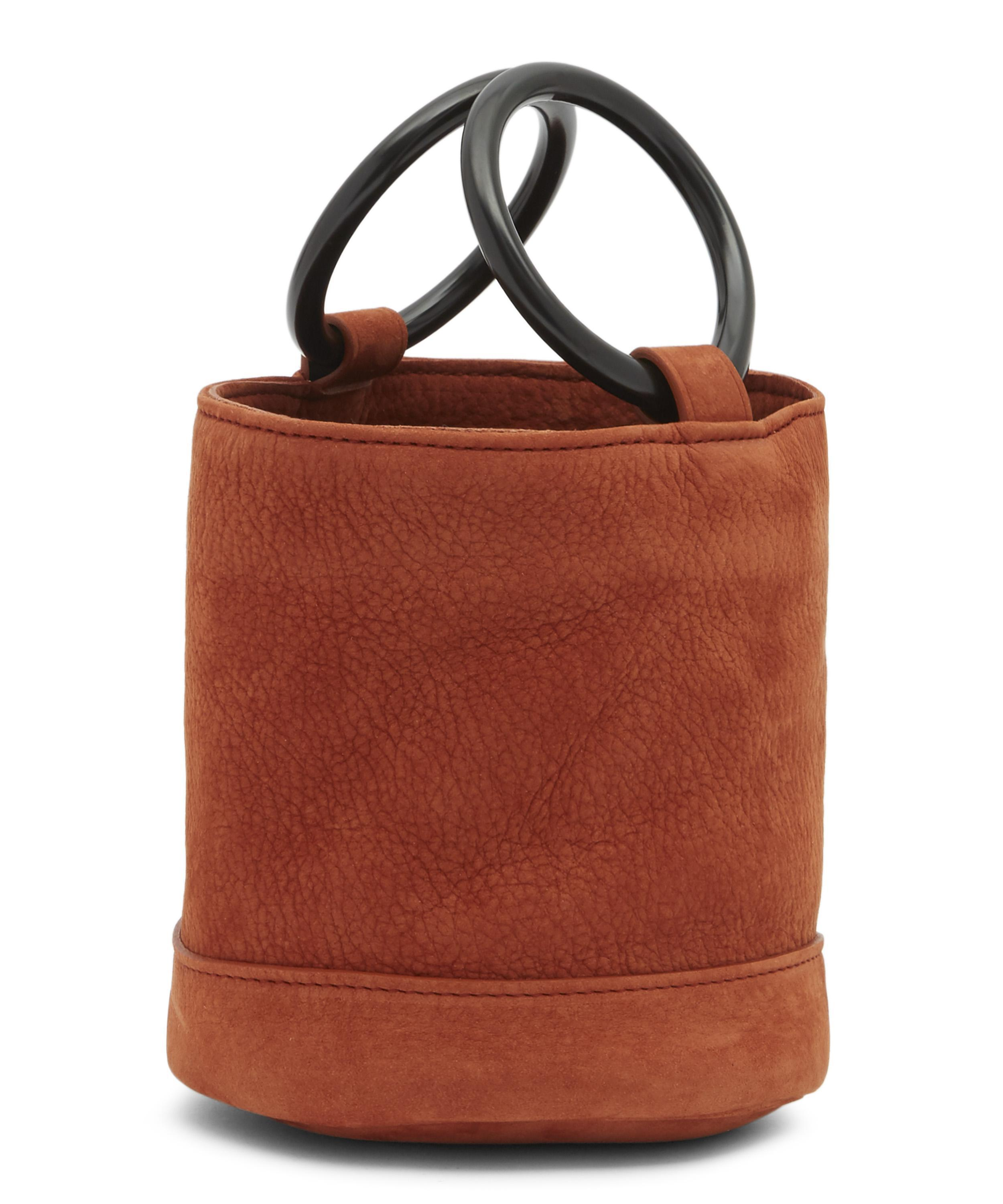 35861eee8e5d Lyst - Simon Miller Bonsai 15 Small Suede Bucket Bag
