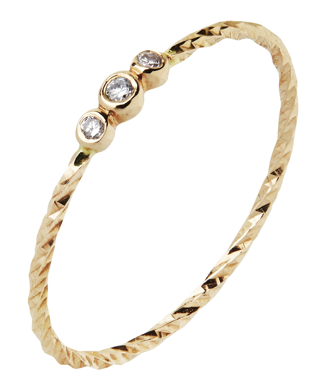 Maria Black diamond cut Jessa ring - Metallic a059n0Ei