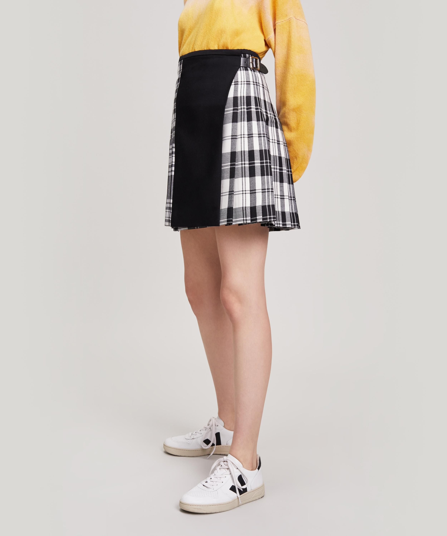 9165f8e2118dde Le Kilt Menzies Mix And Match Wool 18 Inch Kilt in Black - Lyst