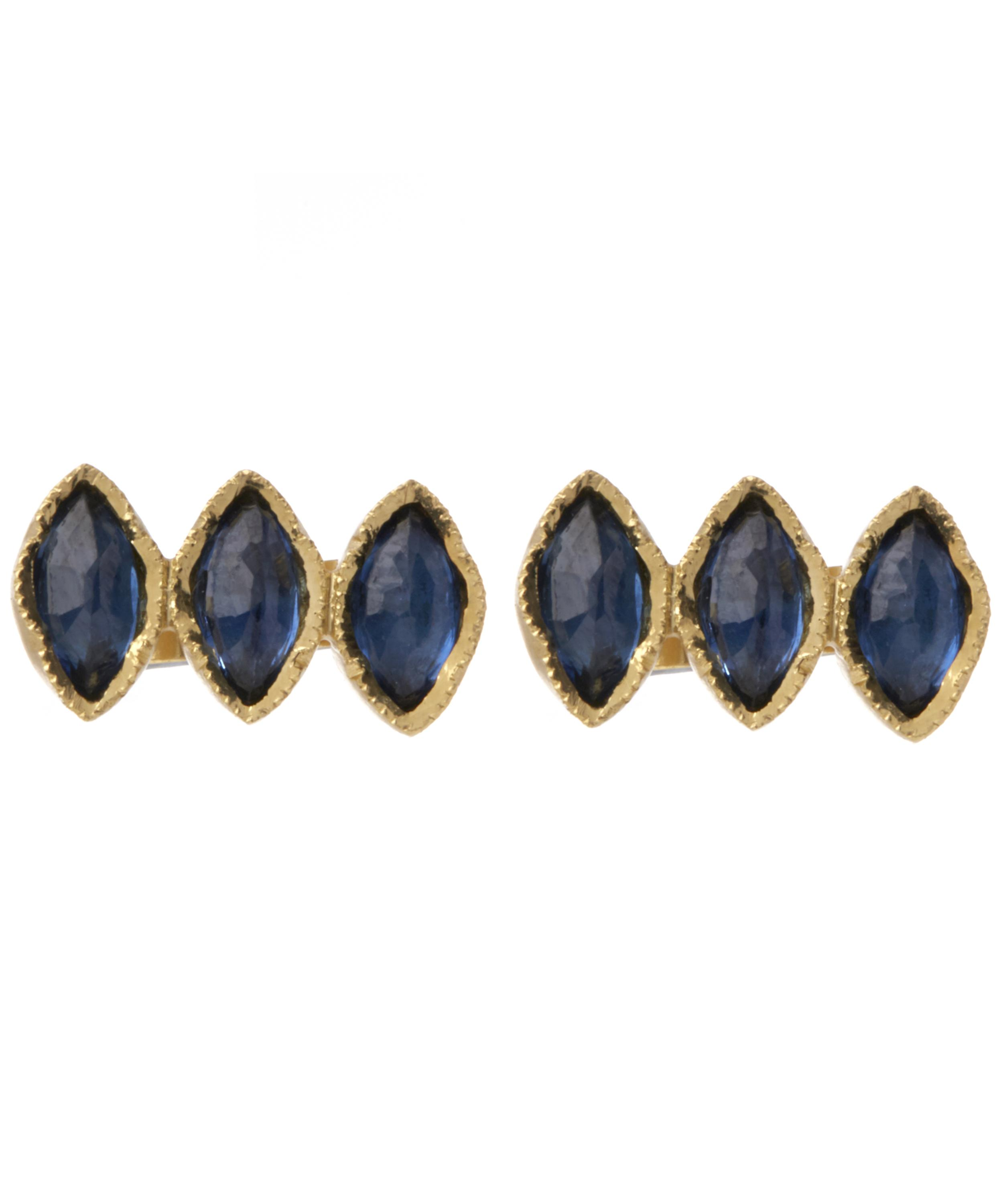 stud gregson marquise copy serafina products e brooke sapphire triple of earrings emerald