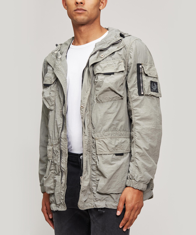 2f6ce11447 Belstaff Pallington Jacket in Gray for Men - Lyst