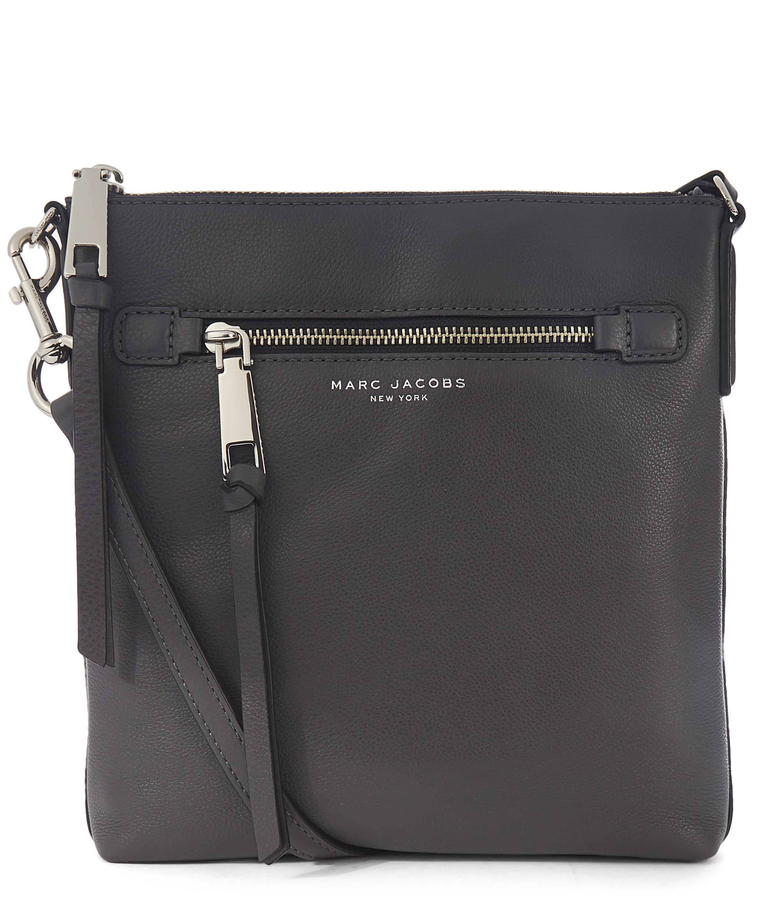030d41eed Marc Jacobs Recruit North-south Crossbody Bag in Black - Lyst