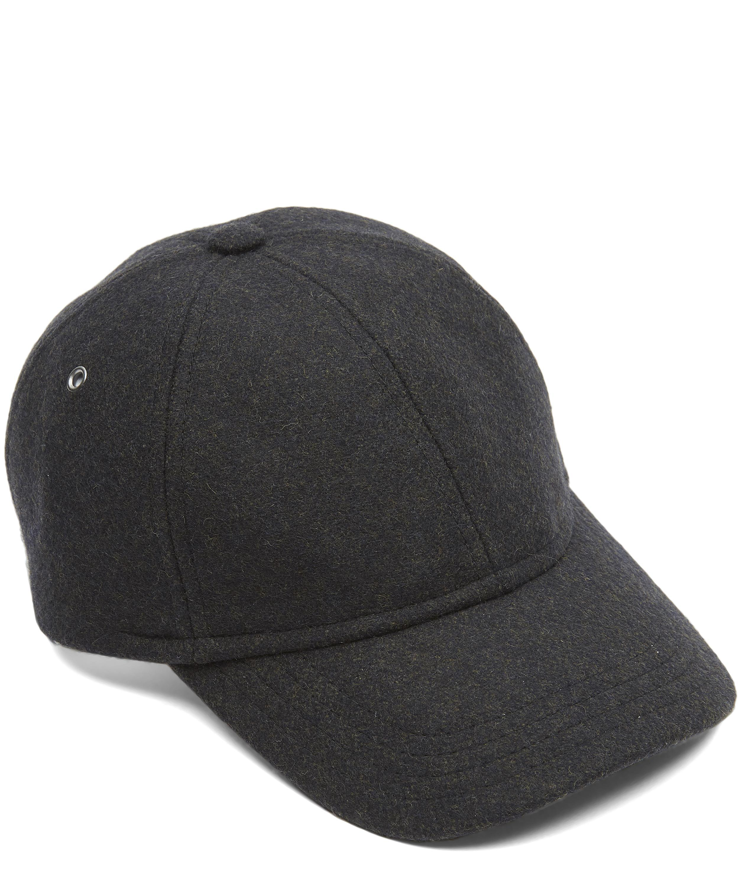A.P.C. Louis Wool Baseball Cap for Men - Lyst 830e78cdb29
