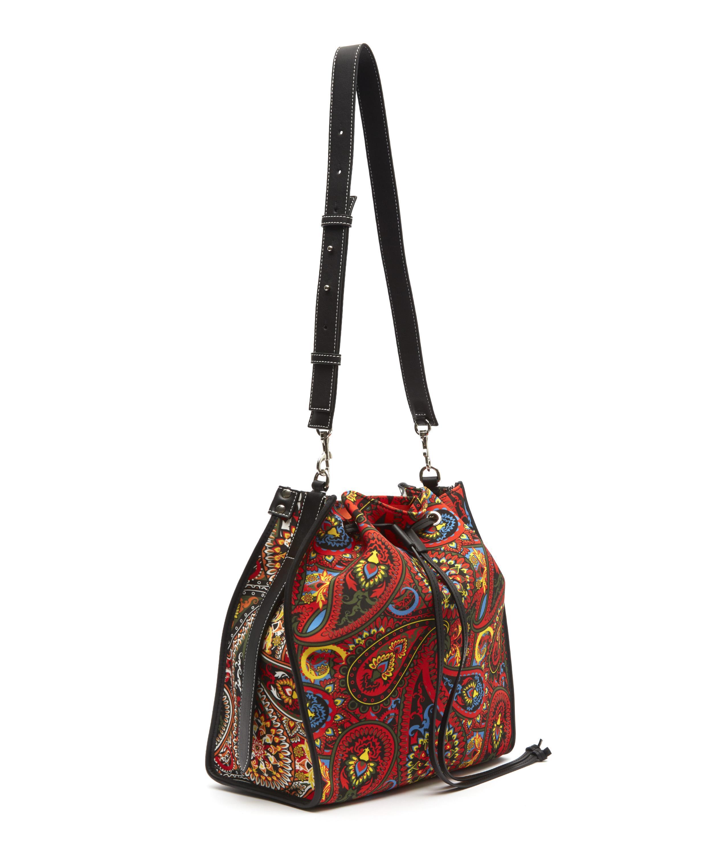 0b515202961a JW Anderson Paisley Drawstring Bag in Orange - Lyst