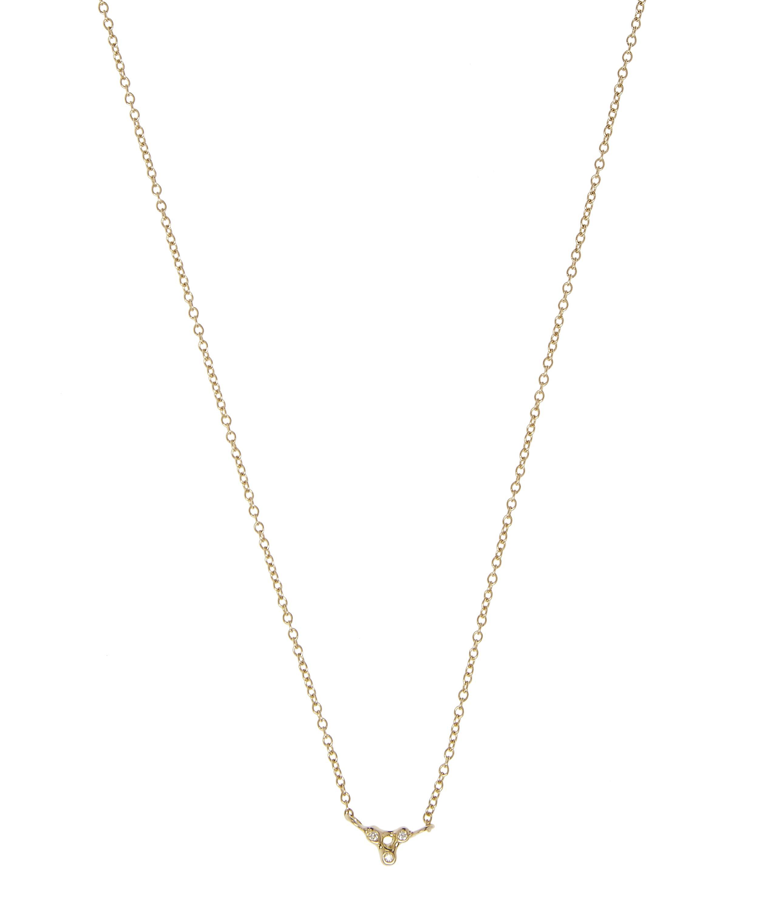 necklace sterling plated knot jewellery gold necklaces simply silver tone multi rose zoom