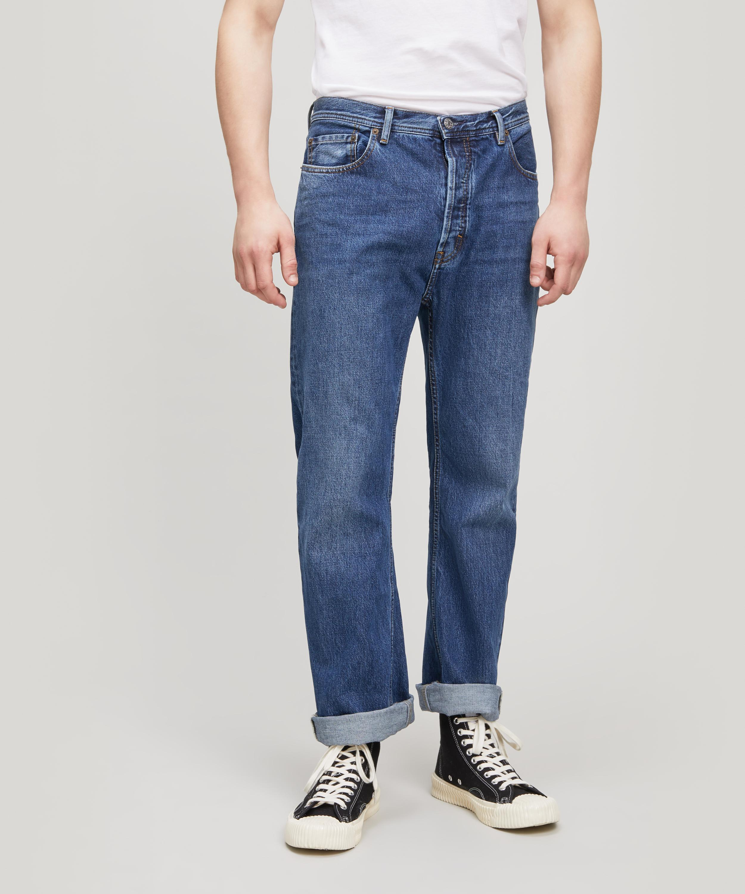 Land in Blue Acne Studios Discount Pictures Outlet Shop Collections Online Outlet Comfortable Amazon For Sale 2Ga4yuJ5DB