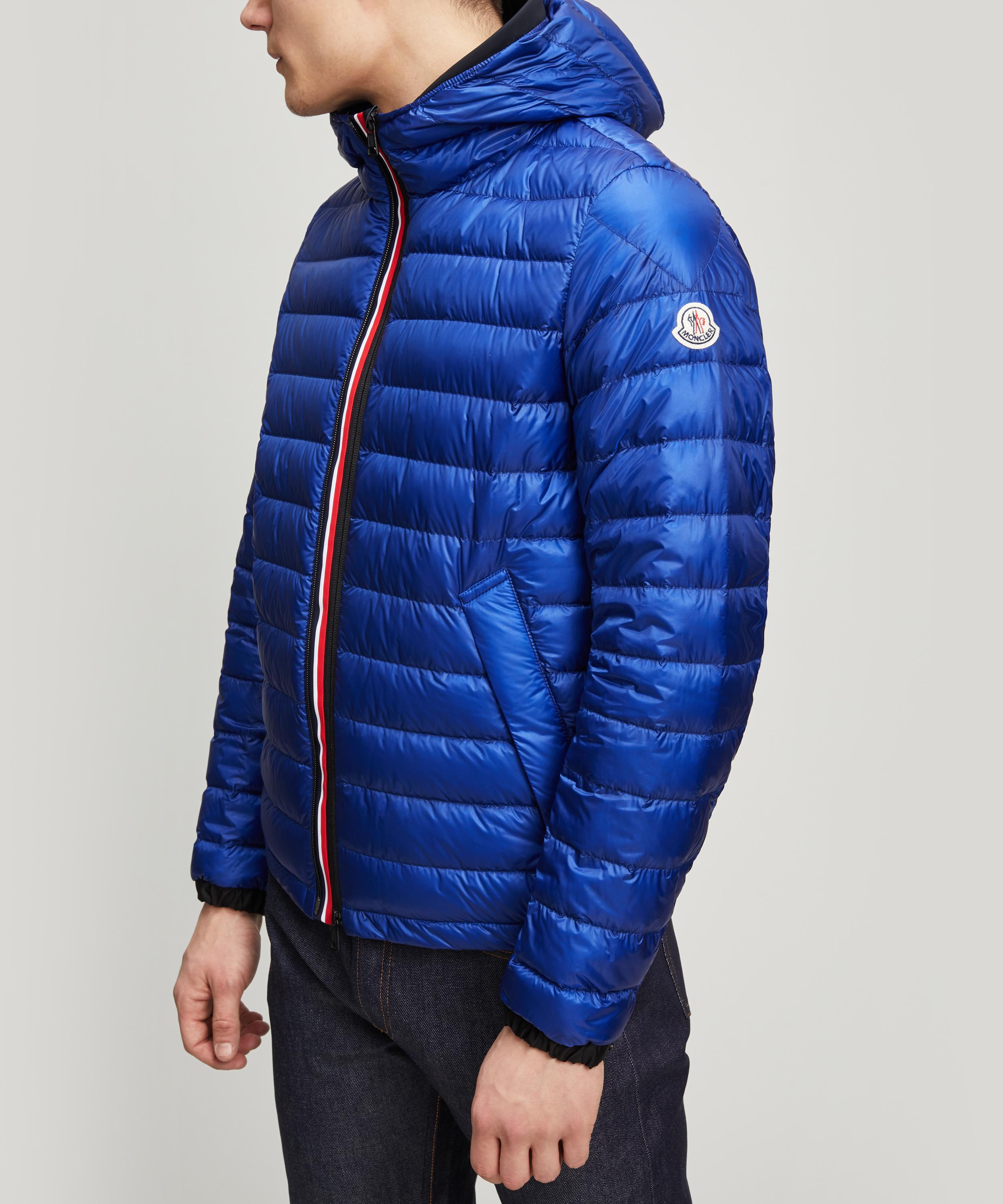 ac3ae66d7452 Lyst - Moncler Morvan Double Zip Padded Jacket in Blue for Men