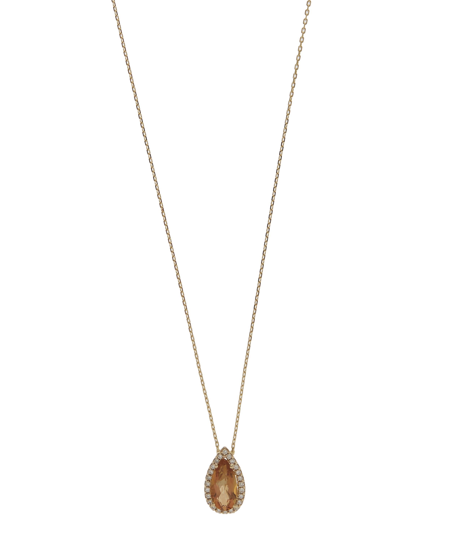 Diamoire Jewels Eminent 18Kt White Gold Diamond Pendant lVYeWiz
