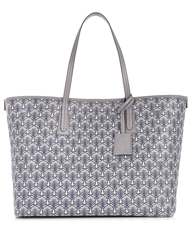 50ea07e82cec2 Lyst - Liberty Marlborough Tote Bag In Iphis Canvas in Gray
