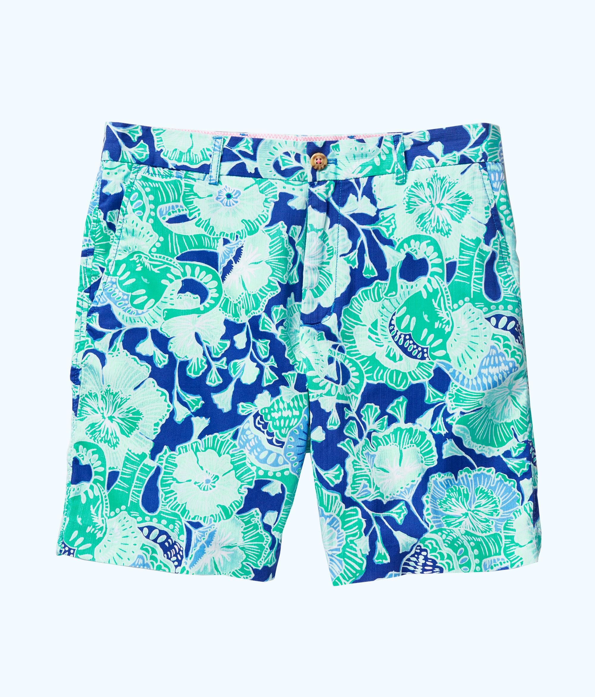 32517e47b0fbe3 Lilly Pulitzer Mens Beaumont Short in Green for Men - Lyst