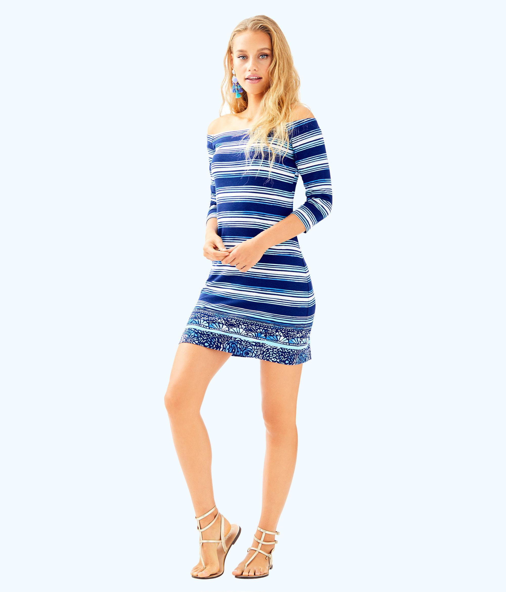 b55e81c00dae50 Gallery. Previously sold at: Lilly Pulitzer · Women's Off The Shoulder  Dresses