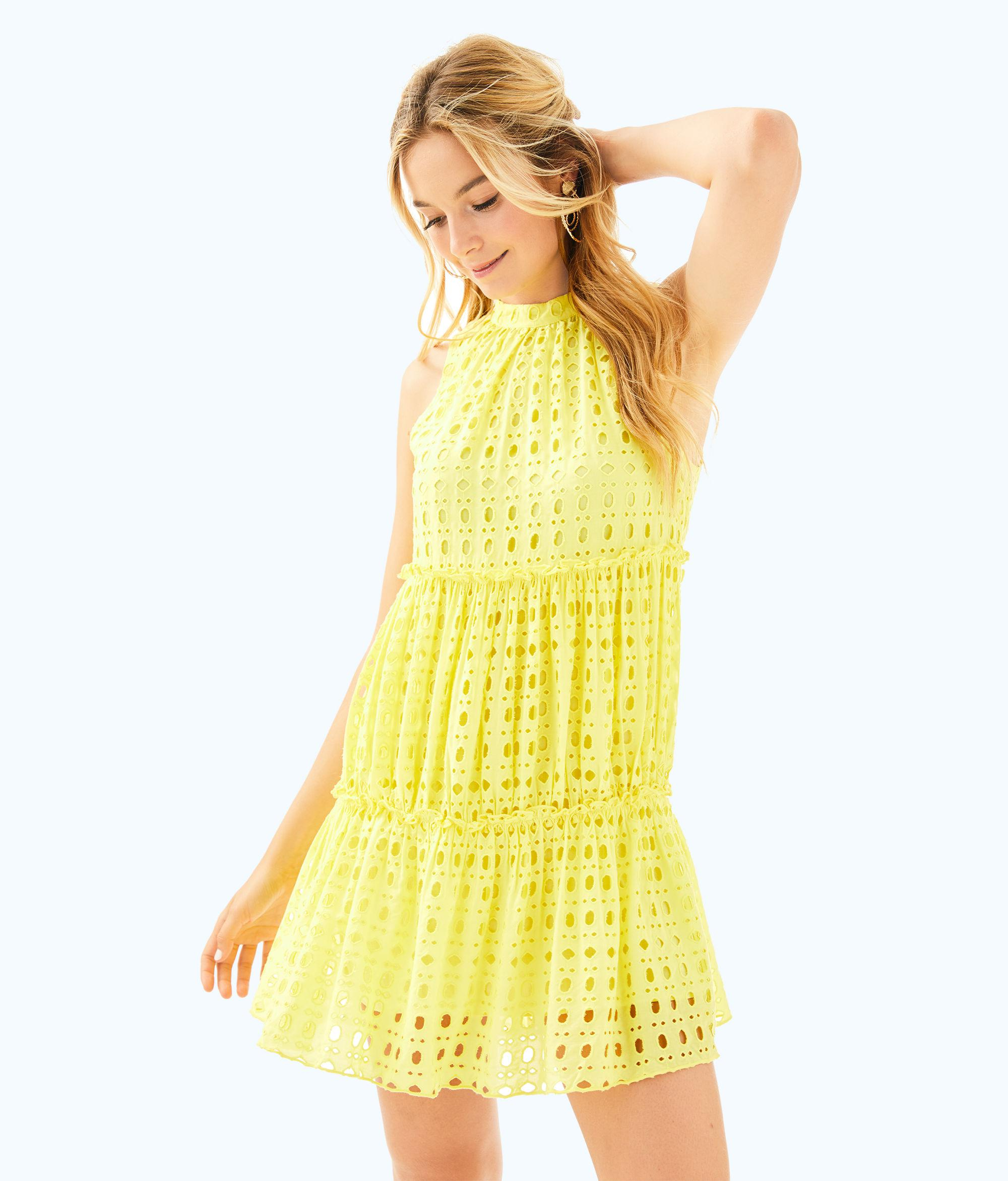 7c8fc2d3833c2b Gallery. Previously sold at: Lilly Pulitzer · Women's Yellow Dresses