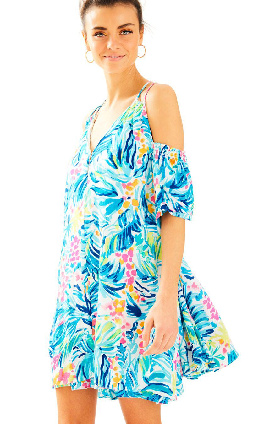 Lyst - Lilly Pulitzer Bellamie Dress in Blue