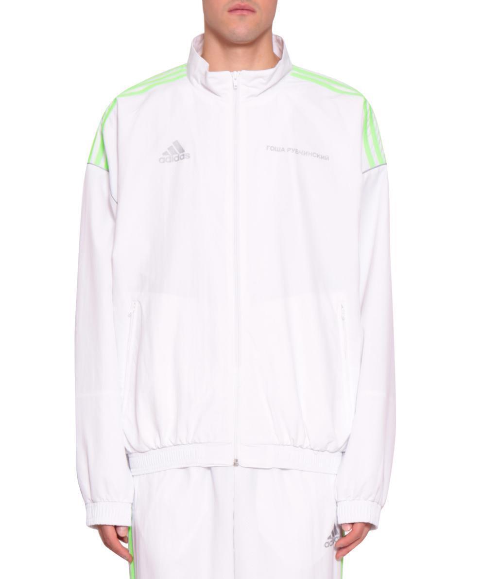 a41218a8 Gosha Rubchinskiy Felpa Adidas Originals in White for Men - Lyst