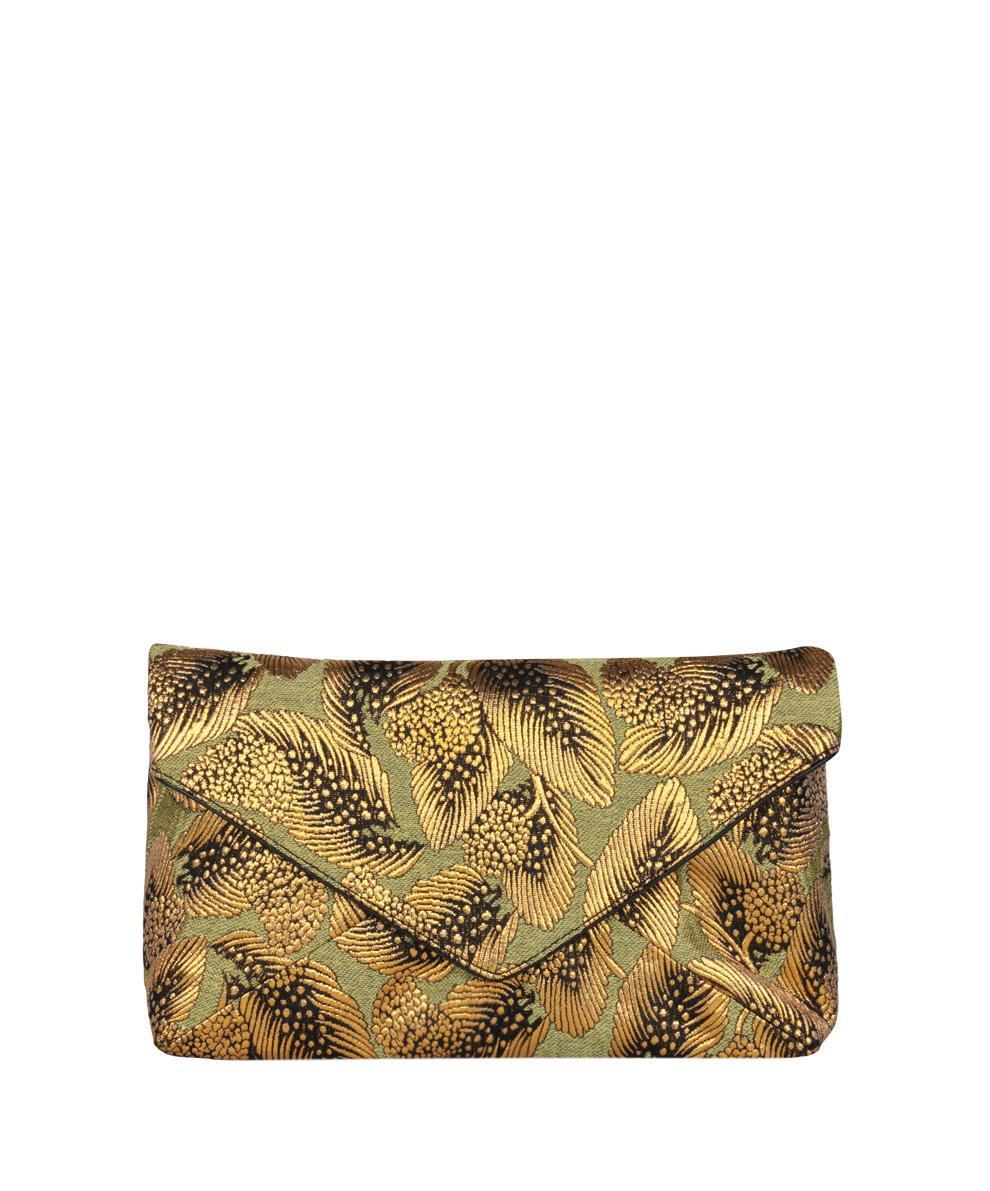 Pre-owned - Leather clutch bag Dries Van Noten U221WVI