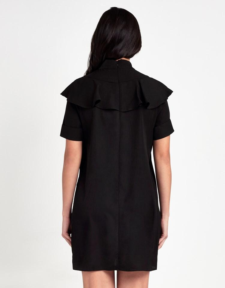 Fashion Union Shift Dress In Black Lyst