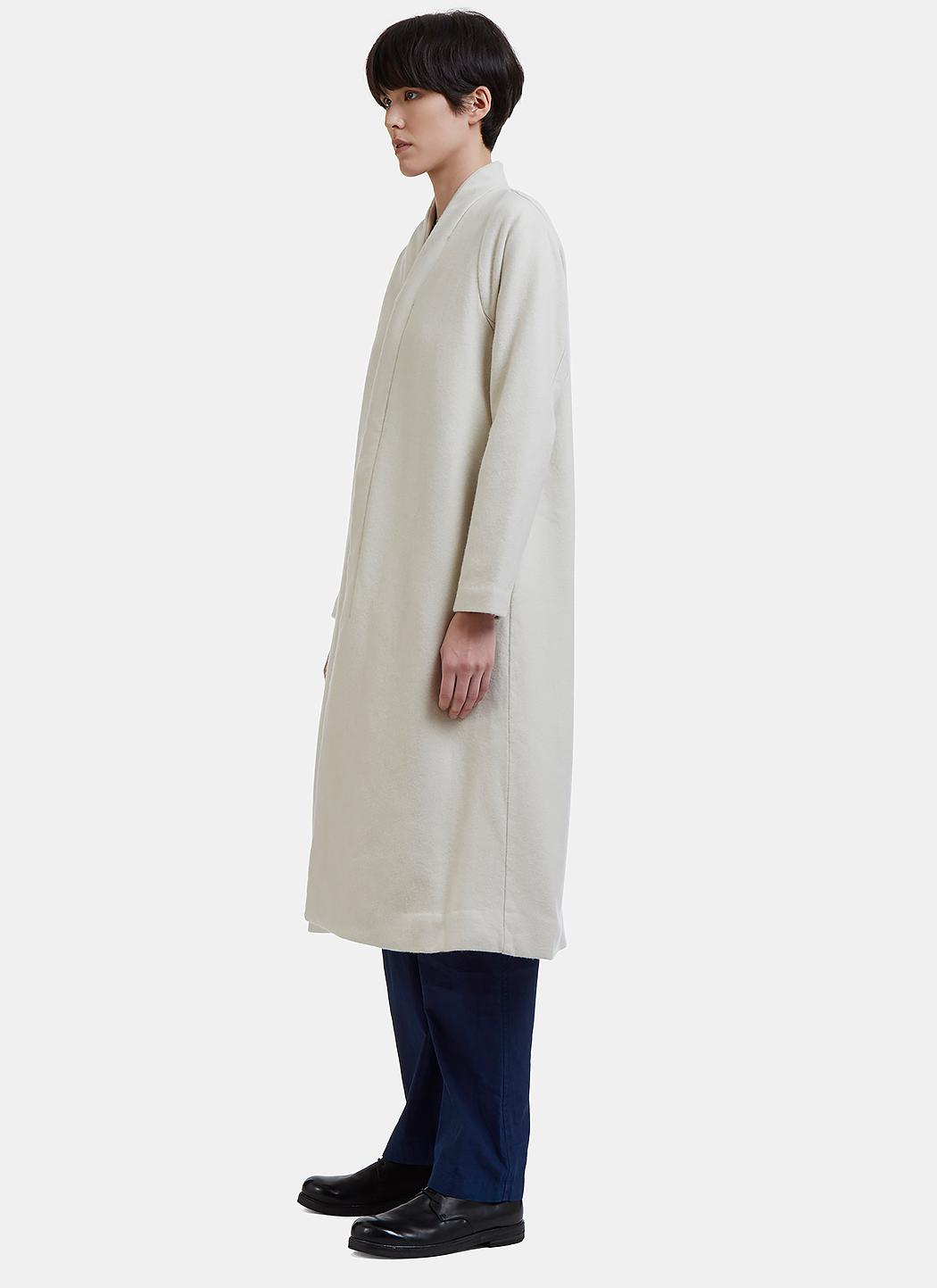 Herbal For Cosmic In White Men Fullscreen Dyed Lyst Coat View Wonder Wool rB5wqr0