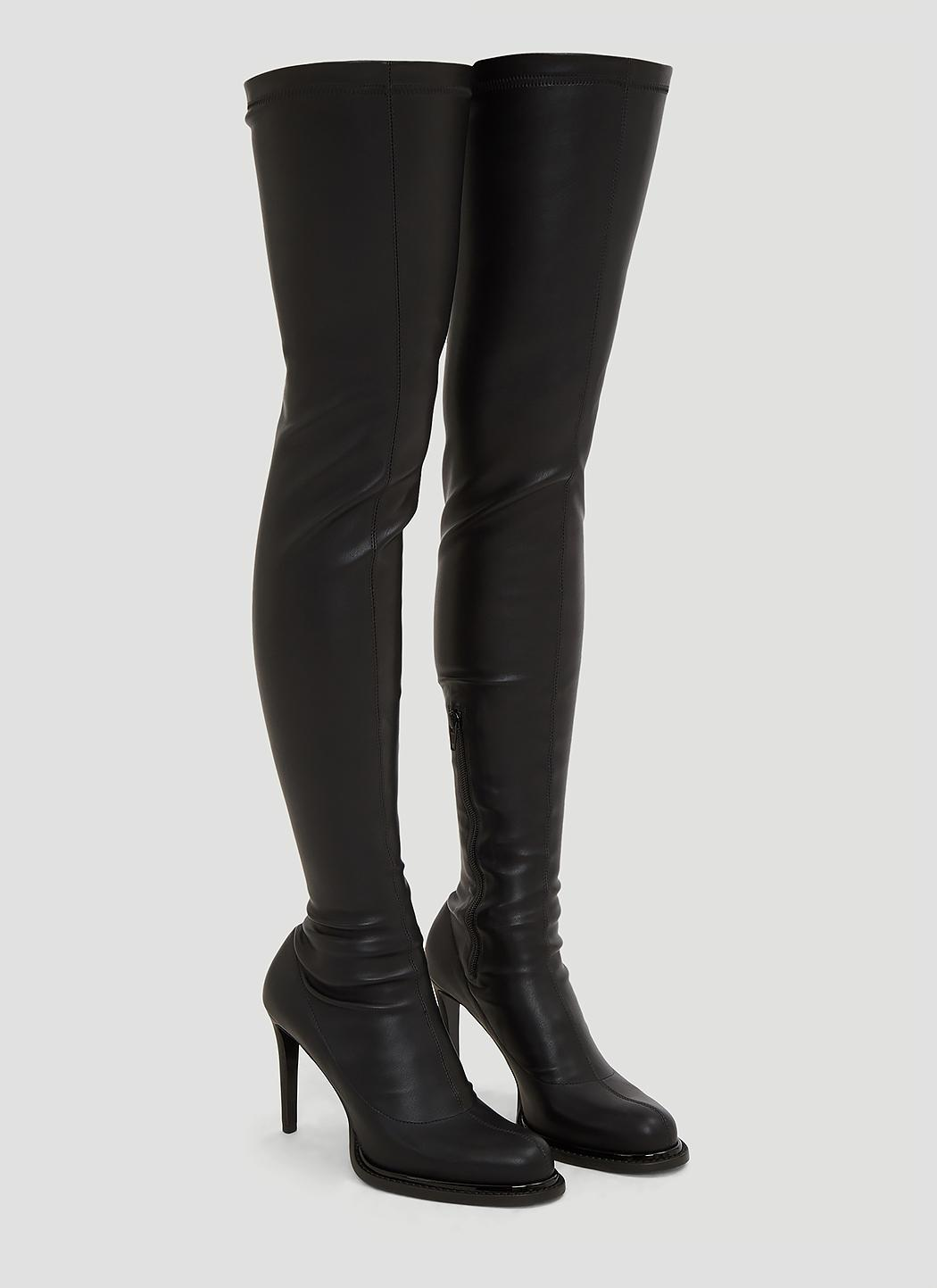In Palmer Lyst High Boots Stella in Black Black Thigh Mccartney qHPwW5X