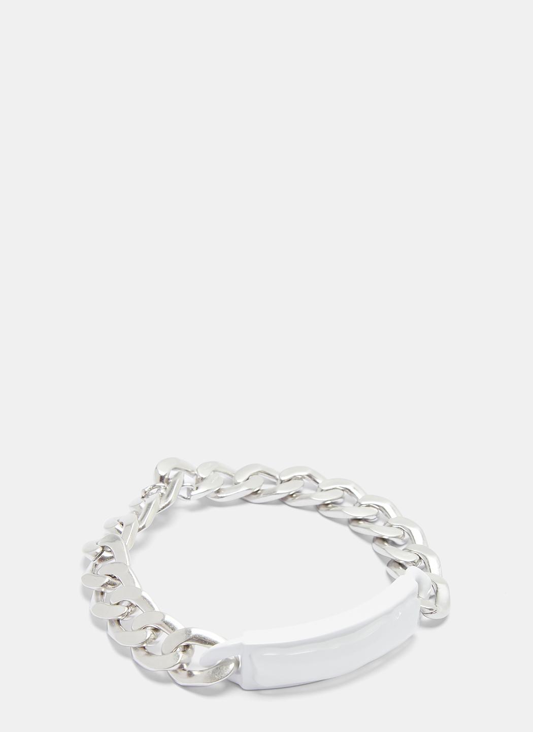 Maison Martin Margiela Anonymous ID bracelet - Metallic mO6eT7e