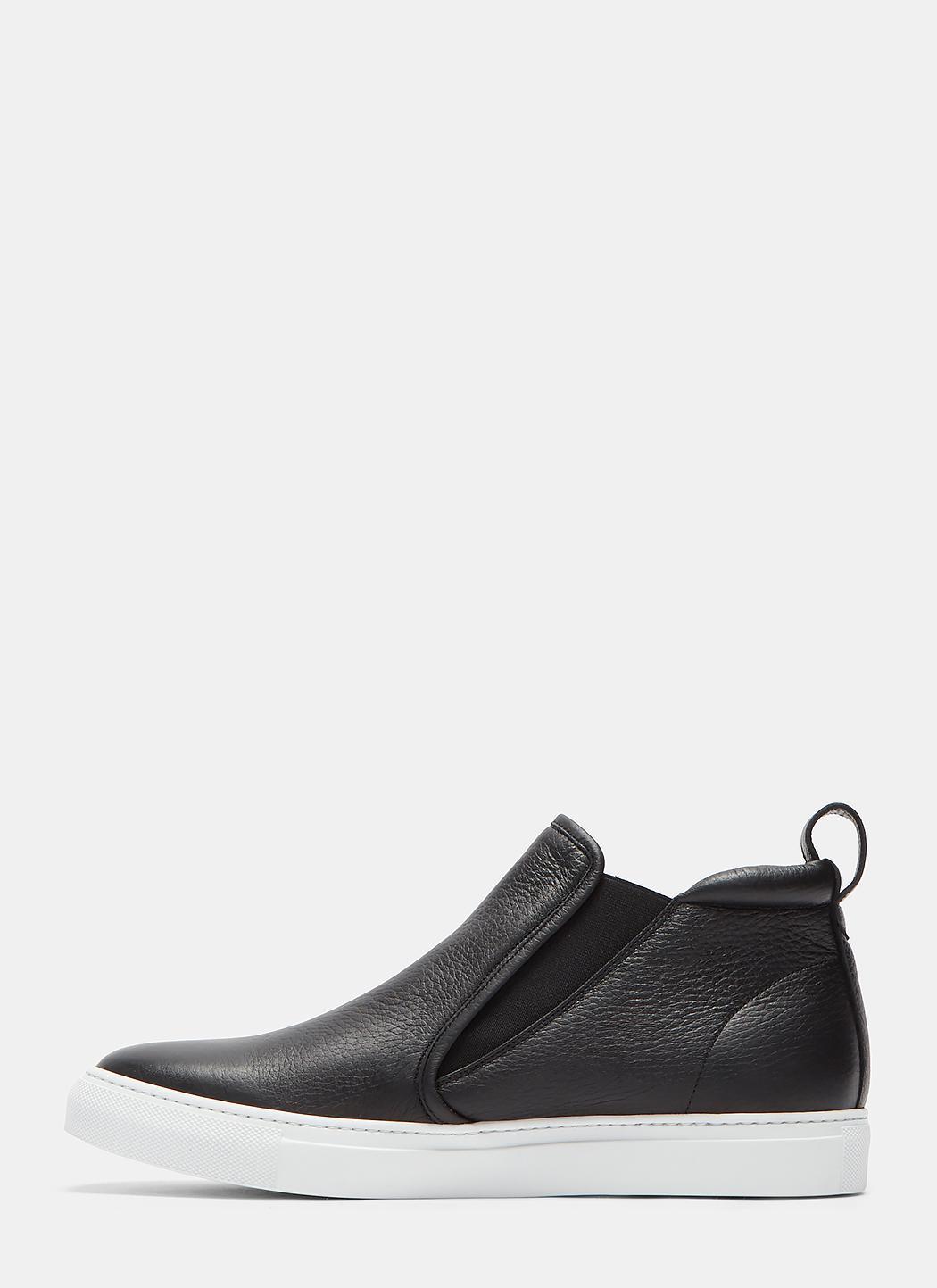 On Grained Slip High Leather Aiezen Xqytnwyhd Sneakers Top w1fqEBAR
