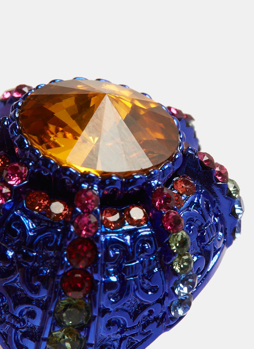 Gucci Crystal Pincushion Ring cYELQpOdZ