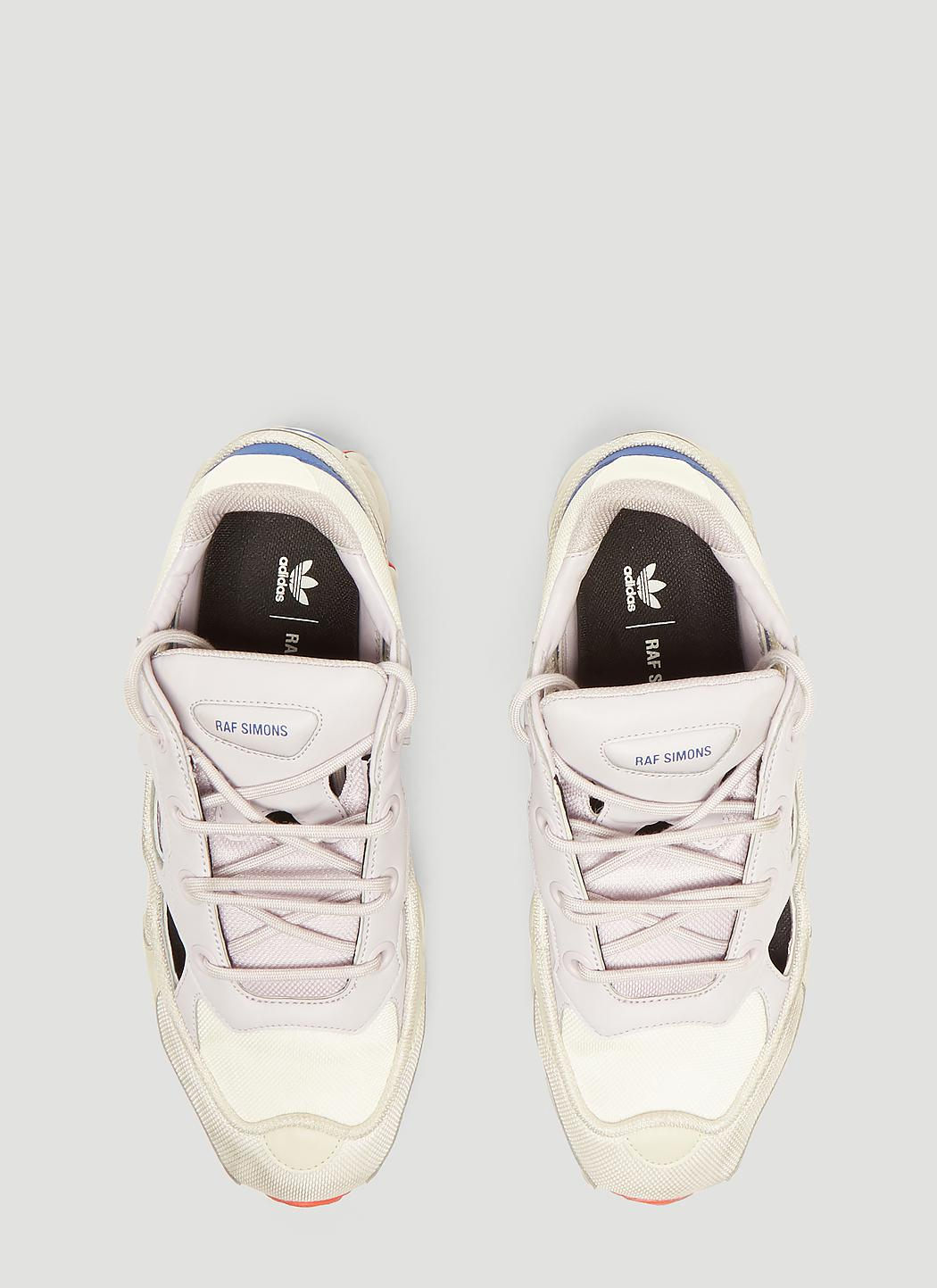 4c31f0a2360 Adidas By Raf Simons - White Replicant Ozweego Limited Edition Sneakers for  Men - Lyst. View fullscreen