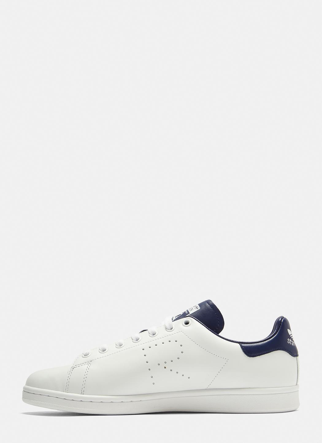 Lyst adidas da raf simons stan smith scarpe in bianco / marina