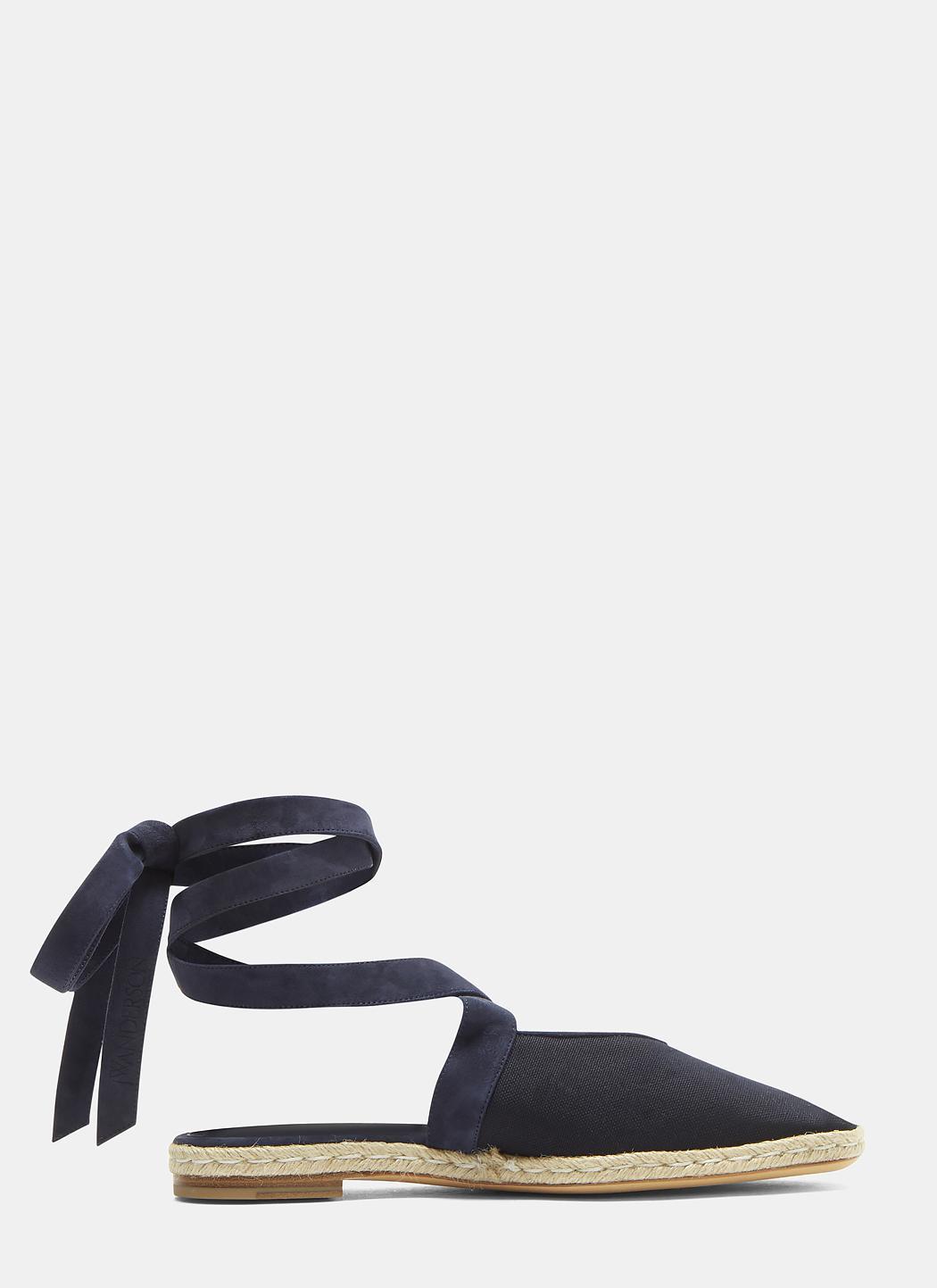 J.W.Anderson Open Flat Sandals lfBYa