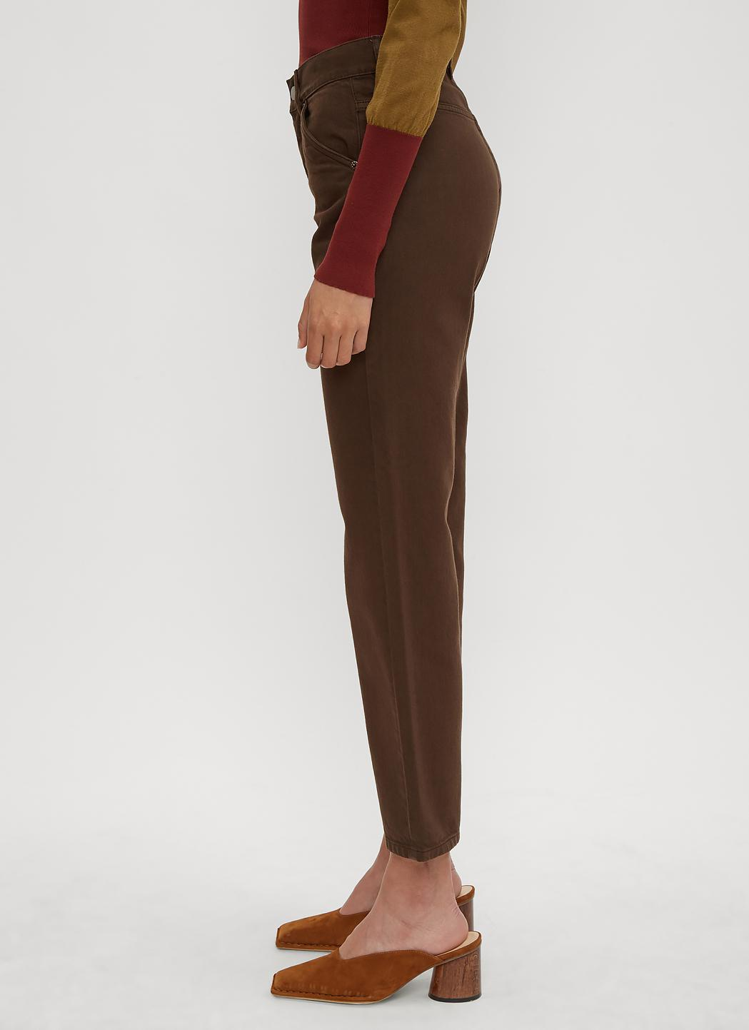 abfd3f7df Jacquemus Le Jean Straight Leg Jeans In Brown in Brown - Lyst