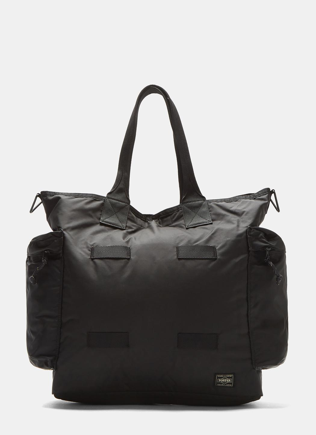 Lyst - Porter 2-way Tote Bag In Black in Black b9768bb7db73d